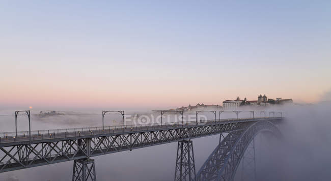 Luiz I Bridge in the evening — Stock Photo