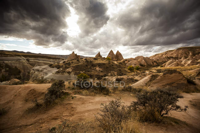 Turkey, Anatolia, Cappadocia, Rose Valley  during daytime — Stock Photo