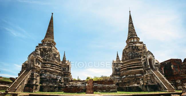 Thailand,  Phra Nakhon Si Ayutthaya, Wat Phra Si Sanphet — Stock Photo