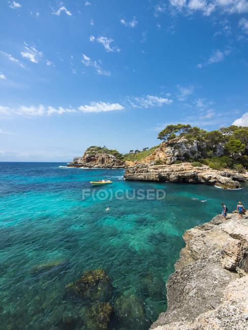 Spagna, Baleari, Maiorca, Santanyi, Cala S'Amonia — Foto stock