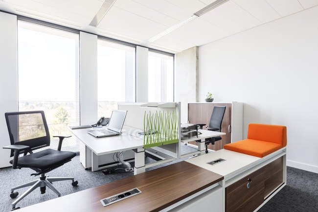 Design of modern office interior — Stock Photo