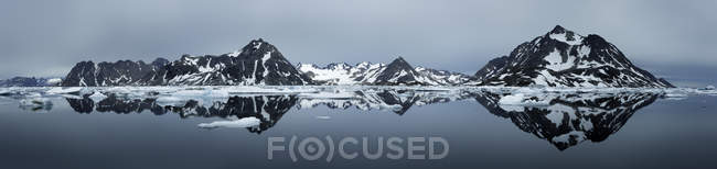 Greenland, Kulusuk, Panorama of Schweizerland — Stock Photo