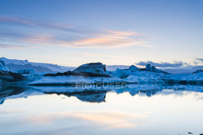 Island, Skaftafell National Park, glacier lagoon Jokulsarlon — Stock Photo