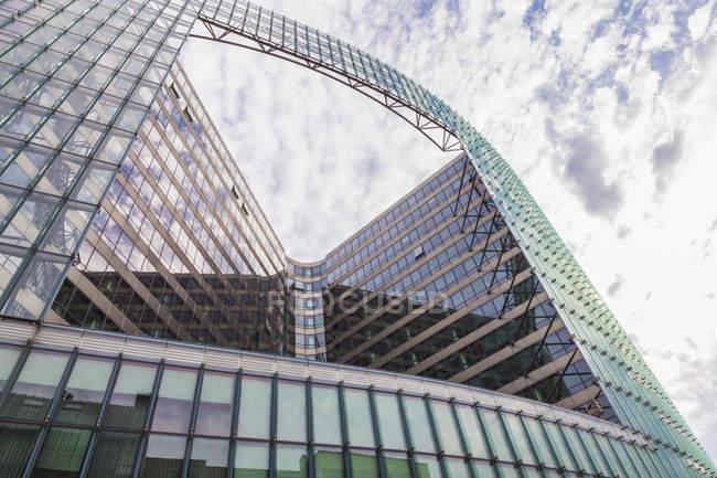 Belgium, Brussels, European Quarter, Charlemagne building, European Commission building — Stock Photo