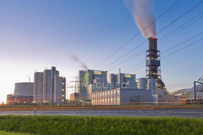 Germany, Hamburg, coal power station during daytime — Stock Photo