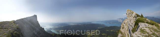 Австрія, Зальцбург держави, Панорама Schafberg — стокове фото