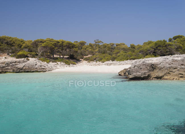 Spain, Menorca, Ciutadella, Talaier beach  during daytime — Stock Photo