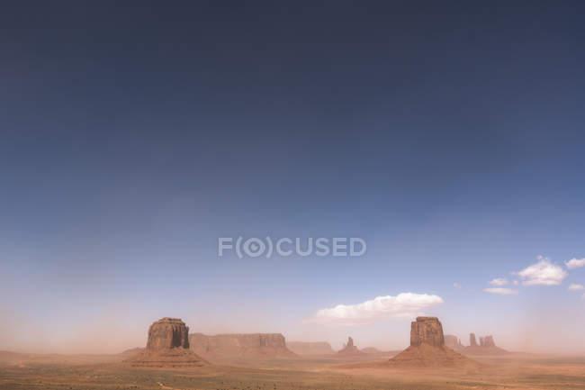 USA, Utah, vue de Monument Valley, réserve Navajo Nation — Photo de stock