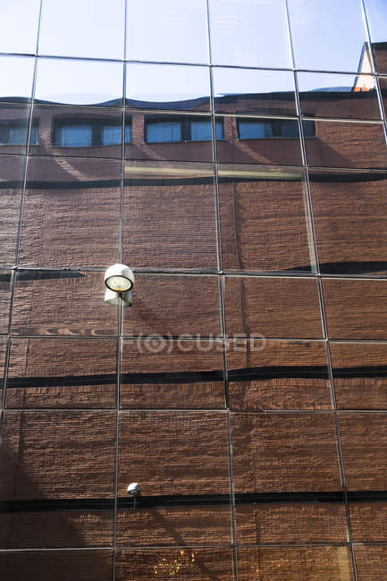 Reflection on a facade during daytime — Stock Photo