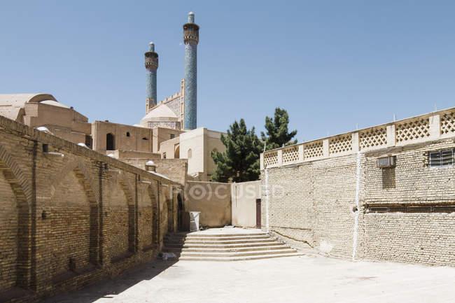 Irã, Isfahan, Mesquita Shah ou Mesquita Imam durante o dia — Fotografia de Stock