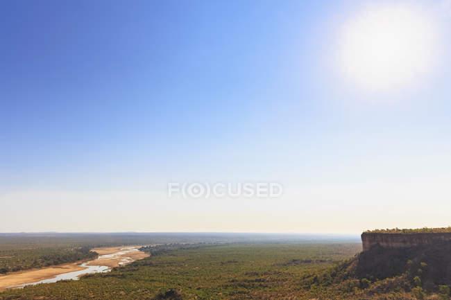 Zimbábue, Masvingo, Parque Nacional de Gonarezhou, Runde River e Chilojo Cliffs — Fotografia de Stock