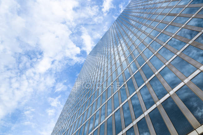 View of facade of Highlight Towers at daytime, Munich, Germany — Stock Photo
