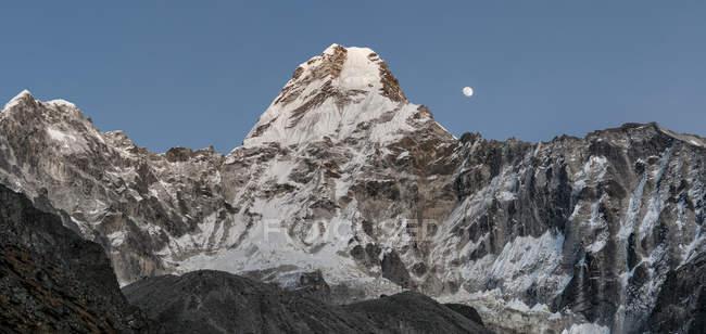 Nepal, Himalaya, Solo-Khumbu, ama dablam Südwestgrat — Stockfoto