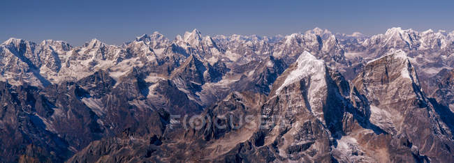 Nepal, Himalaia, Solo Khumbu, Taboche pico do Ama Dablam South West Ridge — Fotografia de Stock