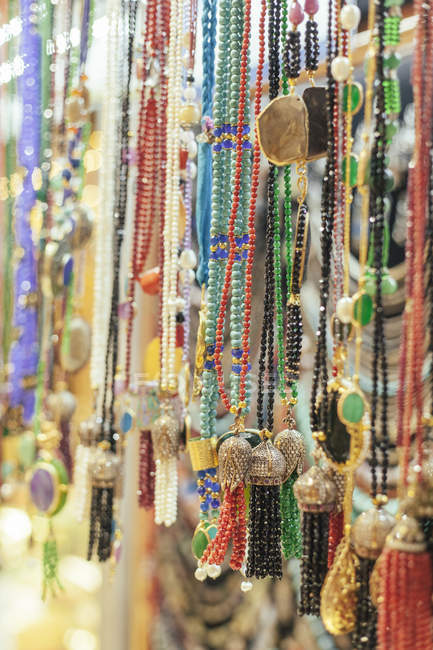 Турция, Стамбул, ювелирные изделия на продажу в Grand Bazaar — стоковое фото