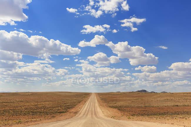 Namibia, gravel road 707  during dayitme — Stock Photo