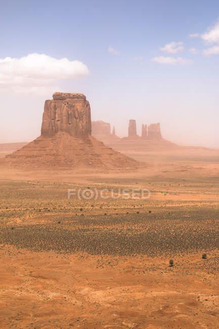 EUA, Utah, exibição de Monument Valley, reserva Navajo Nation — Fotografia de Stock
