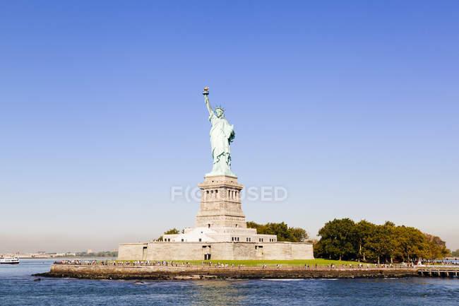 USA, New York City, Statue of Liberty — Stock Photo