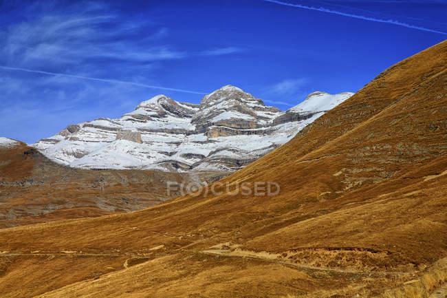 Espanha, Parque Nacional da Ordesa, paisagem montanhosa — Fotografia de Stock