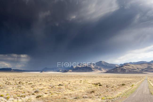 США, Невада, пейзаж в национальном парке большого бассейна — стоковое фото