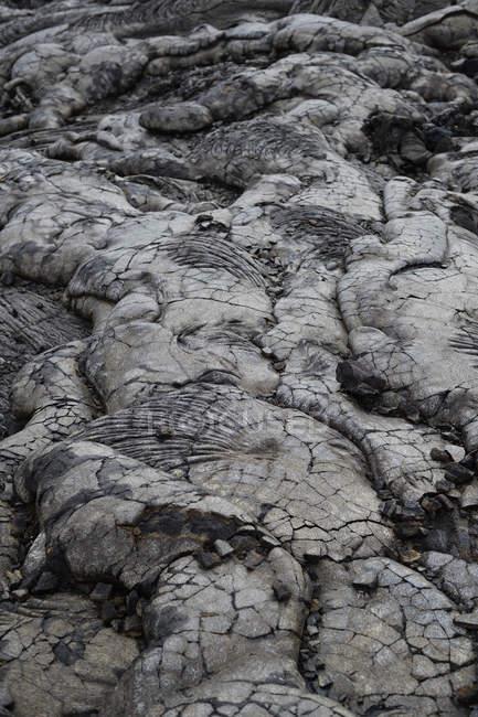 США, Гаваї, великий острів, Національний парк вулканів, лави ланцюг кратерів-Роуд — стокове фото