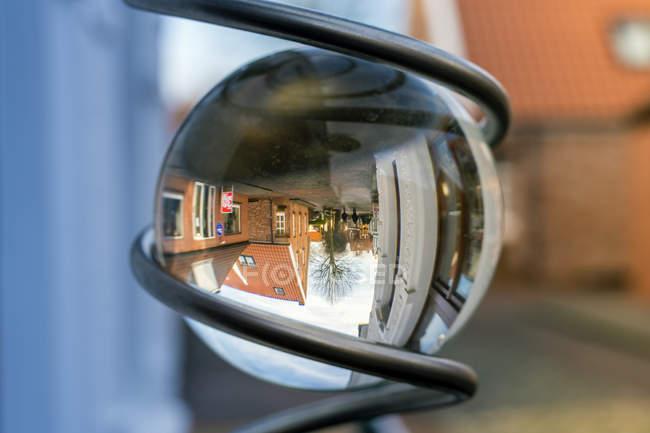 Germany, Greetsiel, crystal ball with reflections — Stock Photo