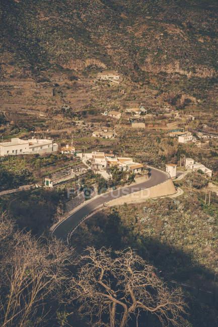 Spanien, Kanarische Inseln, Gran Canaria, Vega de San Mateo Stadt tagsüber — Stockfoto