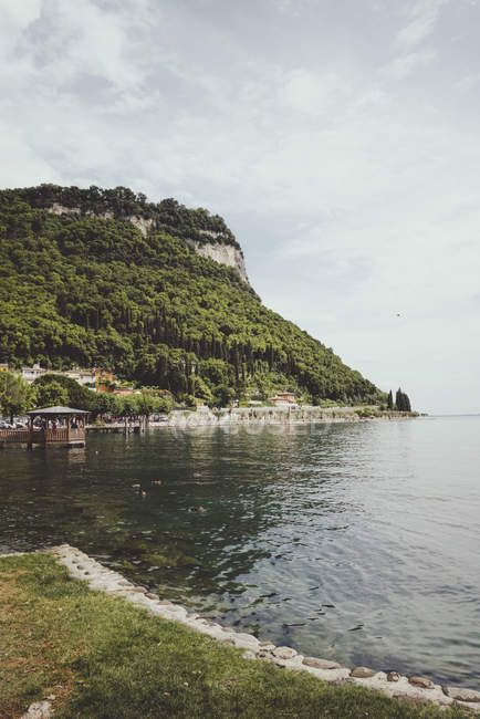 Italy, La Rocca di Garda between gGarda and Bardolino — Stock Photo