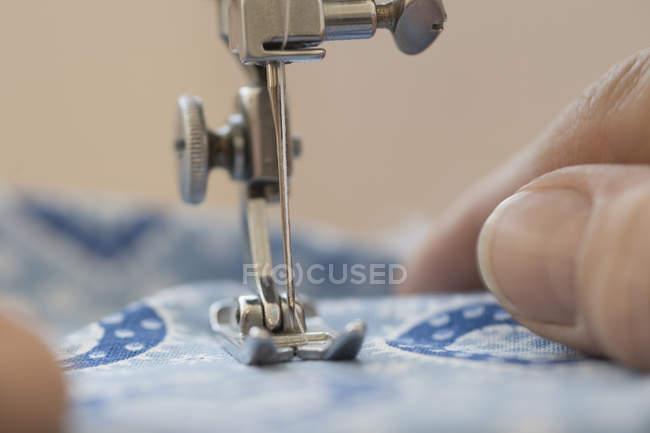 Закри швейні машини — стокове фото