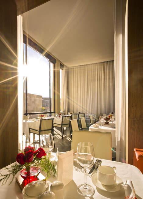 Морено, Фес, отель Riad Fes, накрытый завтрак — стоковое фото