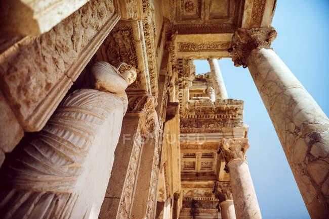 Туреччина, Ефес, бібліотека Цельсія — стокове фото