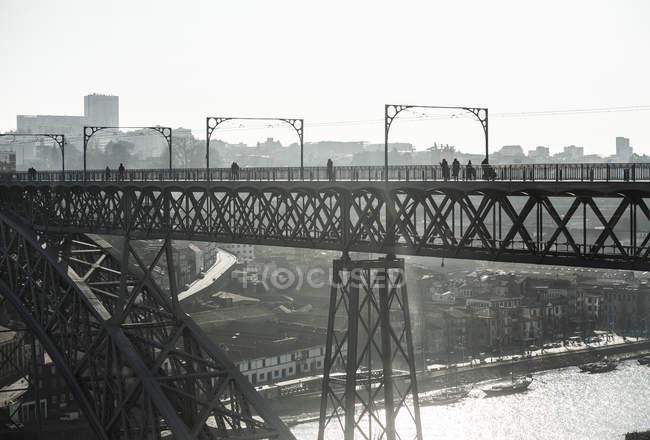 Ponte Dom Luis I — Foto stock