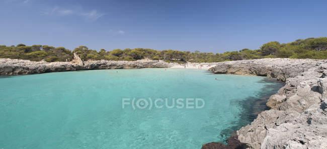 España, Islas Baleares, Menorca, Playa Talaier - foto de stock