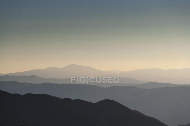 EUA, Califórnia, paisagem em Death Valley National Park — Fotografia de Stock