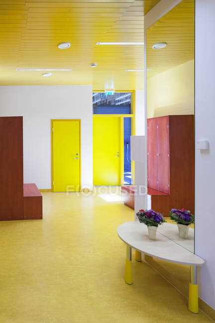 Estonia, indoor view of a newly built kindergarten — Stock Photo