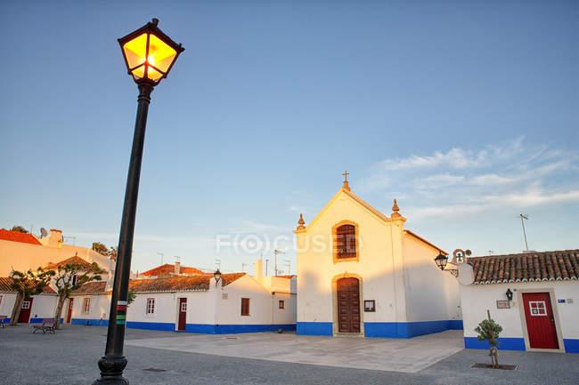 Portogallo, Alentejo, Sines, Porto Covo durante il giorno — Foto stock
