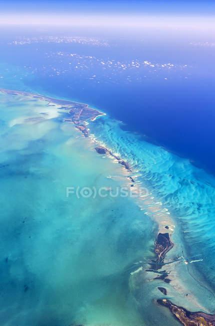 Vista aerea della Florida Keys al giorno, Florida, Stati Uniti d'America — Foto stock