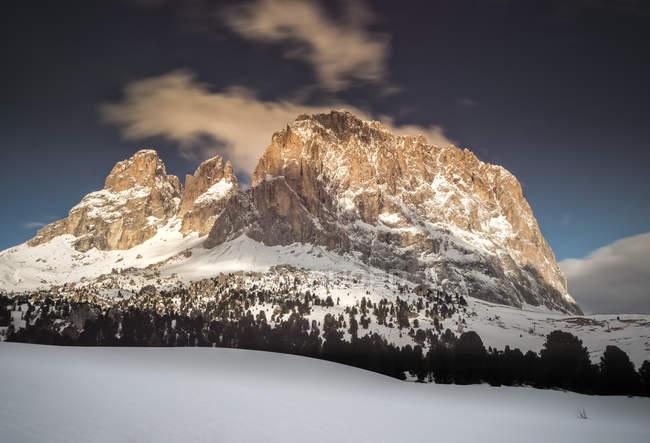 Italy, Trentino-Alto Adige, Dolomites, Langkofel group — Stock Photo