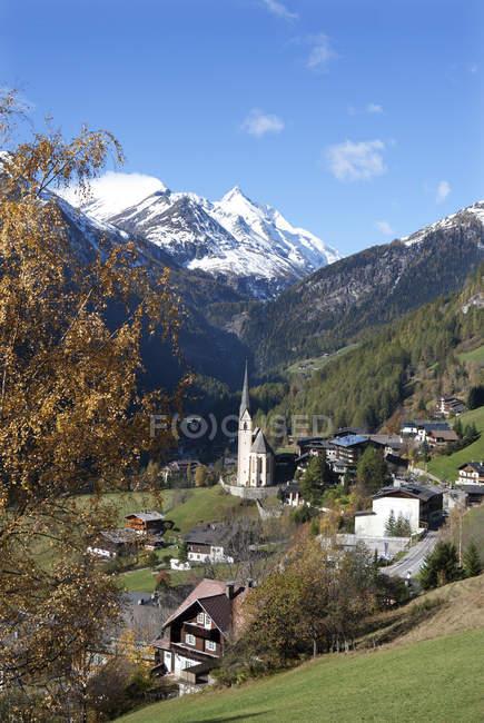 Austria, Carinthia, Heiligenblut am Grossglockner, Hohe Tauern, Grossglockner — Stock Photo