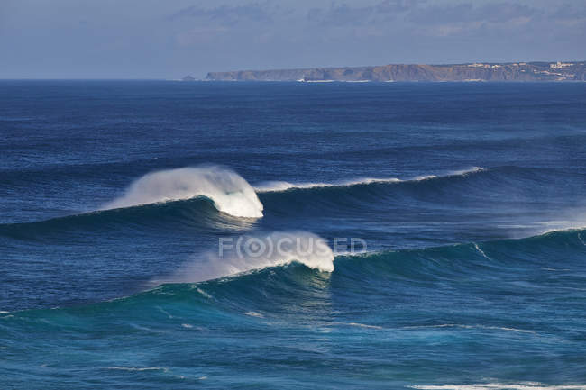 Waves on Atlantic Ocean — Stock Photo