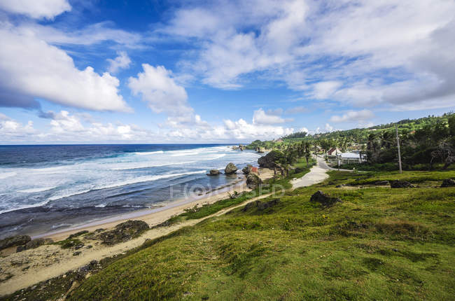 Caraïbes, Antilles, petites Antilles, la Barbade, Côte de l'Atlantique — Photo de stock