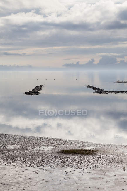 Germany,Schleswig-Holstein, North Sea, Wattenmeer during daytime — Stock Photo