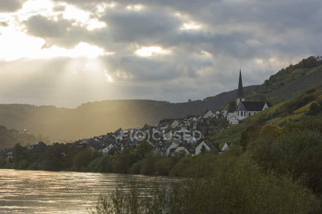 Scenic view of Germany,  Rhineland-Palatinate, Klotten — Stock Photo