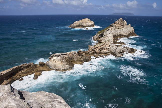 Caraibi, Guadalupa, Guadalupa, Grande-Terre, Pointe des Colibre — Foto stock