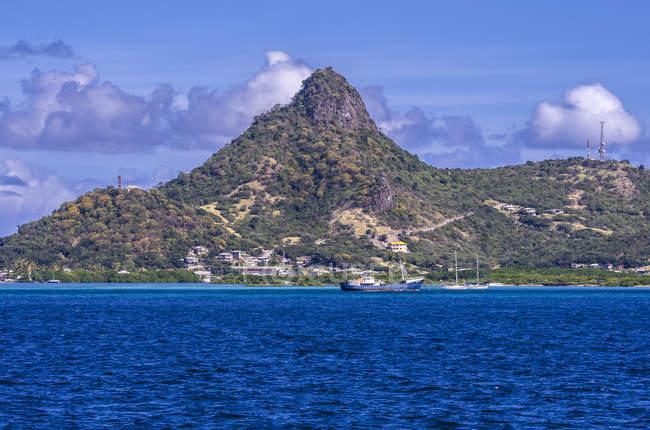 Caraïbes, Antilles, Lesser Antilles, Grenadines, Union Island pendant la journée — Photo de stock