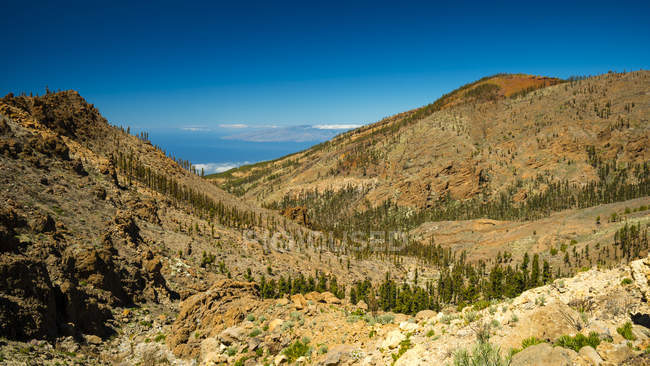 Scenic view of Canadas del Teide National Park, Tenerife, Canary Islands, Spain — Stock Photo