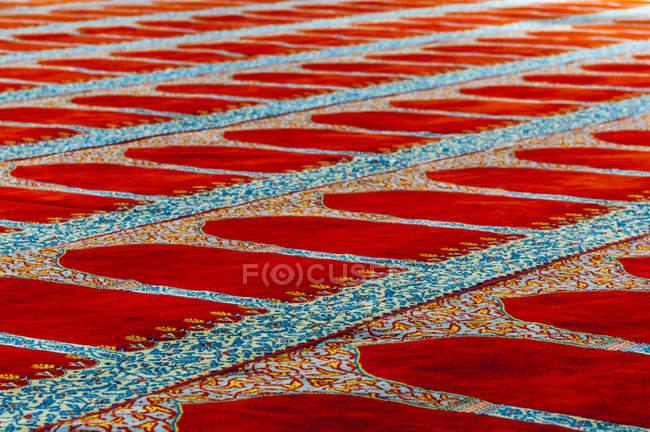 Туреччина, Стамбул, килим у мечеті на поверсі — стокове фото