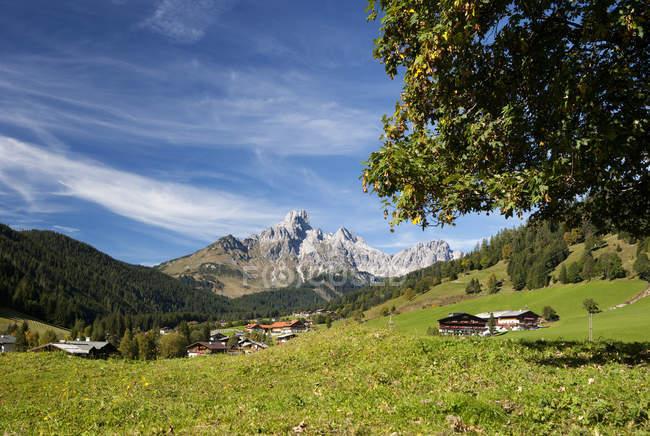 Austria, Filzmoos, Dachstein Mountains, Bischofsmuetze — Stock Photo