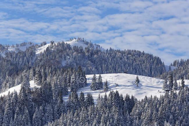 Allemagne, Bavière, Haute-Bavière, Mangfall montagnes — Photo de stock