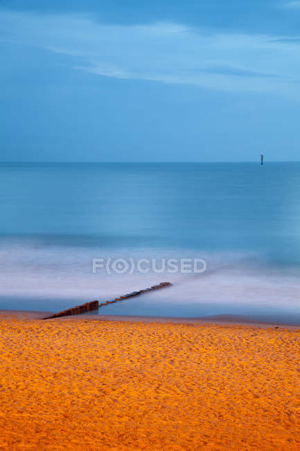 Germany, Schleswig-Holstein, Sylt, shore of the North Sea — Stock Photo